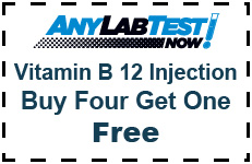 B12 lab test coupon