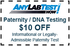 dna testing Coupon